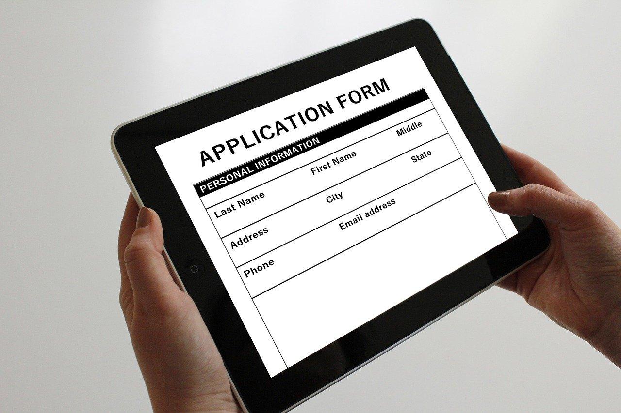 apply online to school
